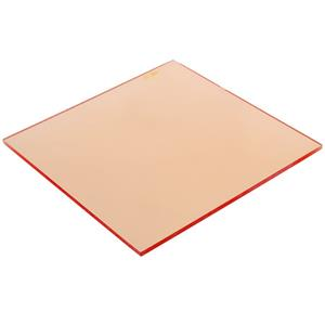 Lee CR2 Coral 1 Warming Filter - 4inx 4in Resin: Picture 1 regular