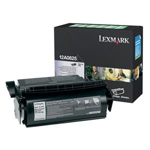 Lexmark 12A0825 Black Toner Cartridge 12A0825