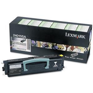 Lexmark 24015SA Black toner Cartridge, Yield 2500 Pages: Picture 1 regular