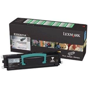 Lexmark E250A11A Black Toner Cartridge E250A11A