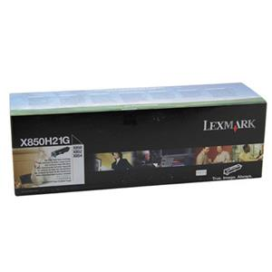 Lexmark X850H21G Black Toner Cartridge X850H21G