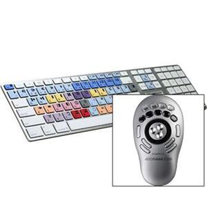 LogicKeyboard Avid Media Composer Ulta Thin Alu Keyboard LGMCOMM89USK