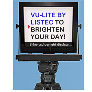 "Listec Teleprompters Vu-Lite TL-2015PT-E 15"" LED On-Camera Prompter TL-2015PT-E"