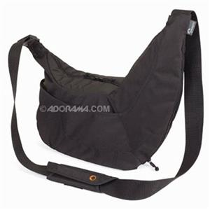 Lowepro Passport Sling Case, DSLR/Personal Gear, Black: Picture 1 regular