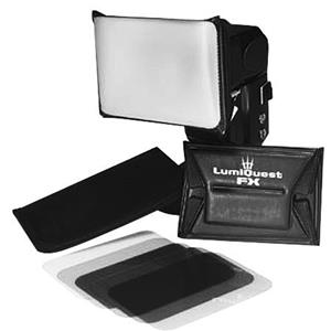 LumiQuest FX, Five Filter Gel Set with Holder: Picture 1 regular