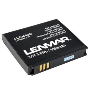 Lenmar CLZ364SG Lithium-Ion 3.6v / 1080 mAh Battery CLZ364SG