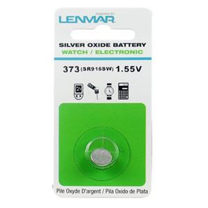 Lenmar WC373 Silver Oxide Battery 1.55V / 26 mAh WC373