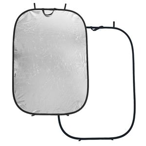 Lastolite LR7231 Oval Disc Reflector, Silver/White: Picture 1 regular