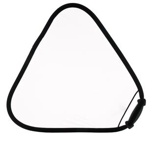 Lastolite LR3607 32in Triangular Reflector, Translucent: Picture 1 regular