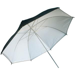 Flashpoint 32in Interior Umbrella, Removeable cover, White: Picture 1 regular
