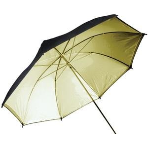 Flashpoint 33in Gold Interior Umbrella: Picture 1 regular