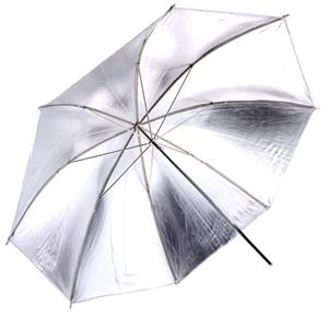 "Adorama 33"" Silver Interior Umbrella. U33S"