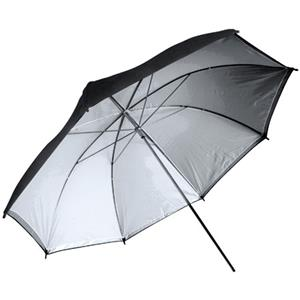 Adorama U40S 40in Silver Interior Umbrella: Picture 1 regular