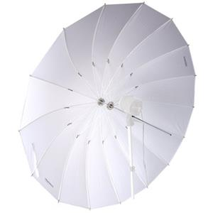 Flashpoint 16-Rib 86in Parabolic White Umbrella: Picture 1 regular