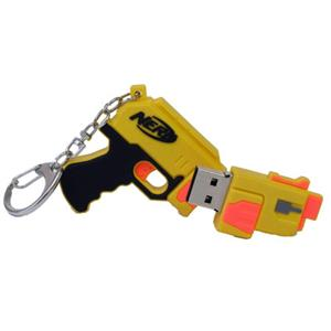 Sakar Nerf 8GB USB Flash Drive KeyChain 16156