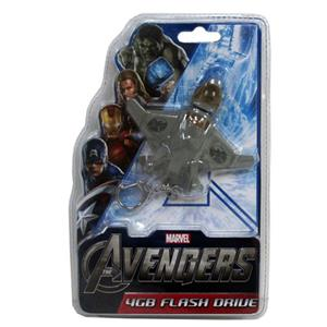Sakar Avengers 4GB USB Flash Drive KeyChain 18043