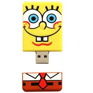 Sakar Spongebob 8GB USB Flash Drive KeyChain 18162