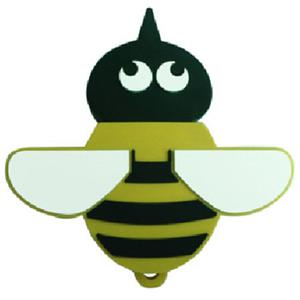 Sakar Bee 4GB USB Flash Drive KeyChain GZ2004