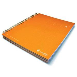 Livescribe 3 Subject Notebook, Number 4, Orange: Picture 1 regular