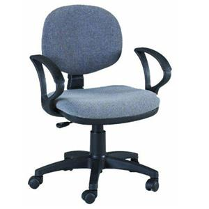 Martin Universal Design Stanford Desk Height Seating Chair, Gray: Picture 1 regular
