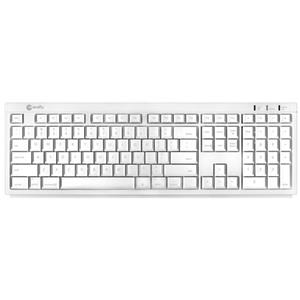 Macally Btkey Bluetooth Slim USB Keyboard - White: Picture 1 regular