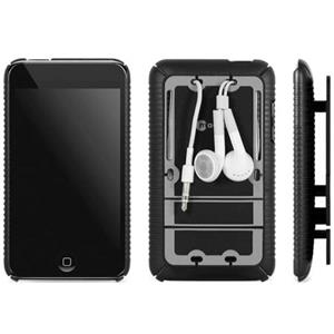 Macally MetroTCM Protective Snap-On Cover w/Cable Management f/iPod Touch 2G: Picture 1 regular