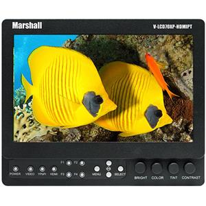 "Marshall 7"" Small Portable Field/Camera-Top LCD Monitor V-LCD70XP-HDIPT-JM"