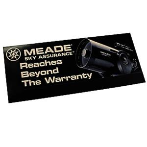 Meade Hang Tag Sky Assurance Extended 5-Year Wa...: Picture 1 regular