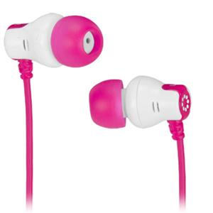 Memorex CB25 Comfort and Style Earbuds, Pink: Picture 1 regular