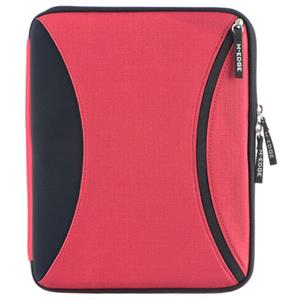 M-Edge Nylon Latitude Jacket for Apple iPad, Red/Black: Picture 1 regular