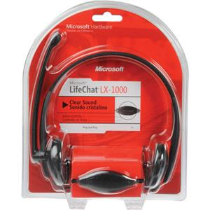 Microsoft LifeChat LX-1000 Binaural Headset: Picture 1 regular