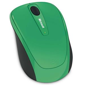 Microsoft Wireless Mobile Mouse 3500, Green: Picture 1 regular