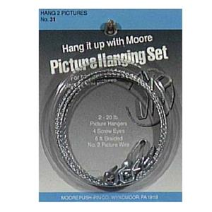 Moore Two Picture Hanging Set 31