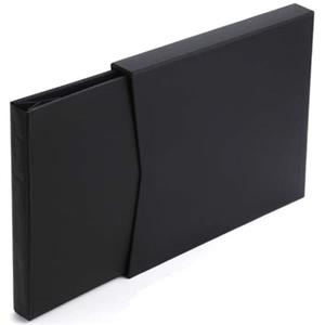 Moab Chinle Digital Book Cover V2, 8x9in, Black Leather: Picture 1 regular