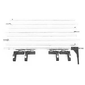 Matthews 8x8' Snap-a-Part Heavy Duty Butterfly / Overhead Frame 409708