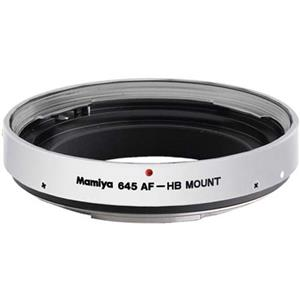 Mamiya Lens Mount Adapter HBW (Silver) to use H...: Picture 1 regular