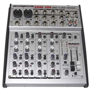Nady SRM-10X 10 Channel Stereo Mic / Line Mixer: Picture 1 regular