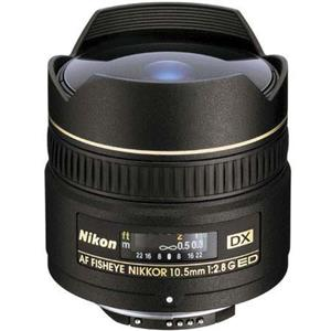 Nikon 10.5mm f/2.8G ED-IF AF DX Fisheye Lens, Refurbished: Picture 1 regular