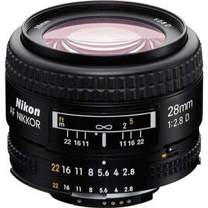 Nikon 28mm f/2.8D ED AF Nikkor Lens - Refurbished by Nikon USA: Picture 1 regular