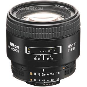 Nikon 85mm F/1.8: Picture 1 regular