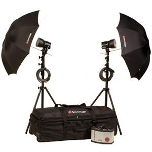 Norman D12R-2 1200ws Umbrella Kit 812963