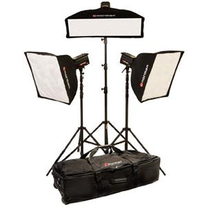 Norman ML-KIT1400R 3 Light 3 Softbox Kit with 1...: Picture 1 regular