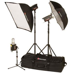 Norman ML-KIT1700R 3 Light/1 Softbox Kit 812917