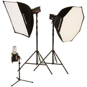 Norman ML-KIT1800R 3 Light Octagon Softbox Kit 812925