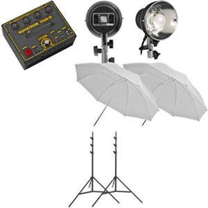 Novatron V400 D 400w/s Mini Pro 2 Light Kit NSV4002W