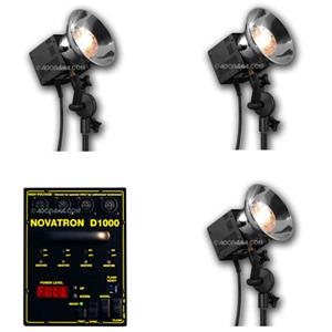 Novatron D1000 Pro 3 Head Convertable Kit NSD10003FCW
