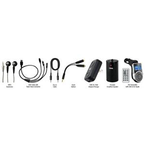 Naxa 10 In 1 Premium Accessory Kit for MP3/MP4 Players & Mobile Devices: Picture 1 regular