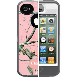 OtterBox Defender Case for iPhone 4S - Peony Pink Plastic: Picture 1 regular