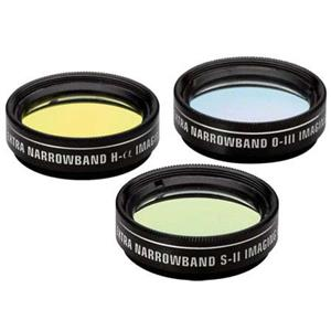 Orion 1.25in Extra-Narrowband Tri-Color CCD Filter Set: Picture 1 regular
