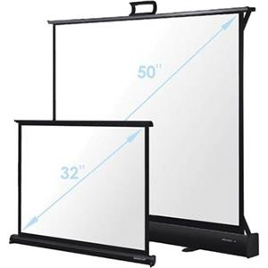 Optoma Lightweight 50in Tabletop Screen, Matte White: Picture 1 regular